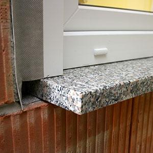 Bu schmidt baulexikon - Granit fensterbank innen einbauen anleitung ...